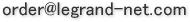 美容室ルグランのメールオーダーアドレス